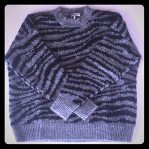 Men's Isabel Marant Zebra Sweater